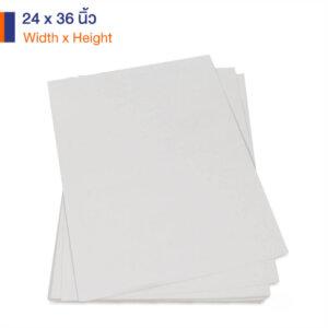 กระดาษคราฟท์สีขาว 170 แกรม ขนาด 24×36 นิ้ว