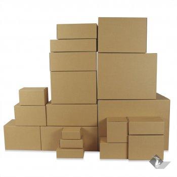 กล่องพัสดุ กล่องกระดาษลูกฟูก (Corrugated Carton Box)