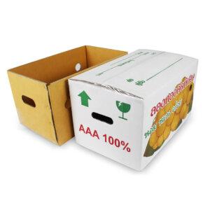 กล่องผลไม้ กล่องลองกอง
