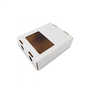 กล่องผลไม้รวม มีหน้าต่าง จุ 1 กก.