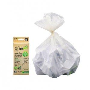 ถุงขยะม้วน สลายตัวได้ 20 ชิ้น/แพ็ค