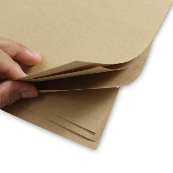 กระดาษรองอาหาร สีน้ำตาลธรรมชาติ