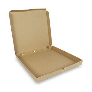 กล่องพิซซ่าสี่เหลี่ยม ขนาด 18 นิ้ว 45.7 x 45.7 x 4.5 ซม.