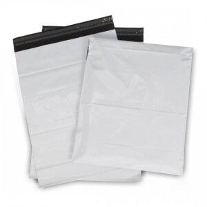ซองไปรษณีย์พลาสติก สีขาว ขนาด 32×45 ซม.