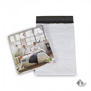 ซองไปรษณีย์พลาสติก สีขาว ขนาด 20x30 ซม.