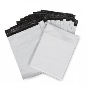 ซองไปรษณีย์พลาสติก สีขาว ขนาด 20×30 ซม.