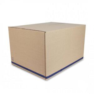 กล่องไปรษณีย์ สีน้ำตาลธรรมชาติ ขนาด KERRY size L 50x40x30 cm (ยxกxส)