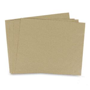 กระดาษรองอาหาร สีน้ำตาลธรรมชาติ 12x14 นิ้ว