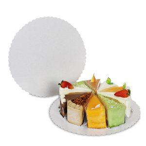 กระดาษรองเค้ก กระดาษรองอาหารแบบกลม 10 นิ้ว