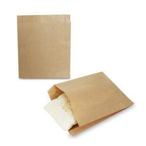 ซองกระดาษคราฟท์สีน้ำตาล 18×15 cm