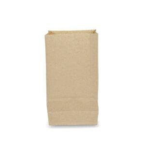 ถุงกระดาษคราฟท์สีน้ำตาล 13x7x21.7 cm(ยxกxส)