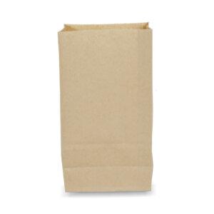 ถุงกระดาษคราฟท์สีน้ำตาล 14.6x9x27 cm(ยxกxส)