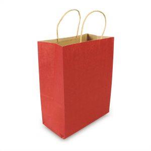 ถุงกระดาษคราฟท์มีหูหิ้ว-สีแดง-3