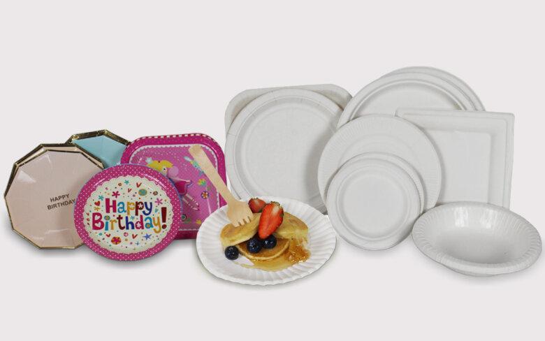 จานกระดาษ โรงงานผลิตบรรจุภัณฑ์อาหารและเครื่องดื่ม banner