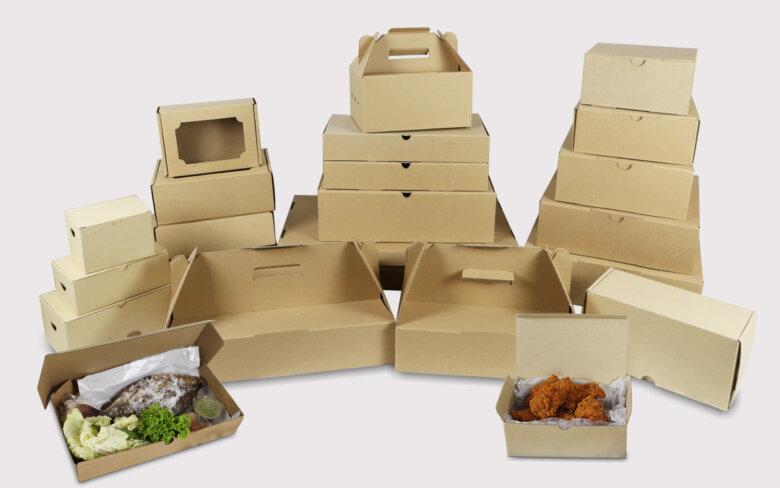 กล่องไก่ทอด หมูทอด food grade