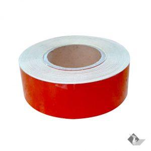 เทปกาวสะท้อนแสง สีแดง 5 x 50 หลา