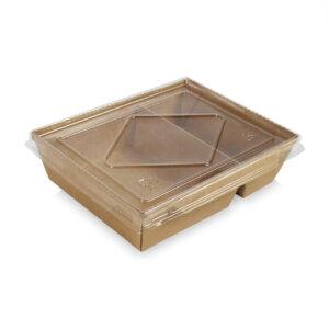 กล่องไฮบริด 2 ช่อง 40 oz / 1200 มล.