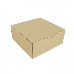 กล่องใส่อาหาร 10 นิ้ว Size S ขนาด 25.4×25.4×10.2 ซม.