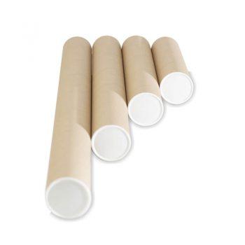 แกนกระดาษ กระบอกโปสเตอร์พร้อมฝา (Paper Core+Lid)