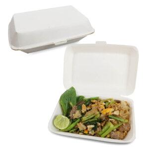 กล่องข้าว ใส่อาหารปลอดภัย 900 ml.