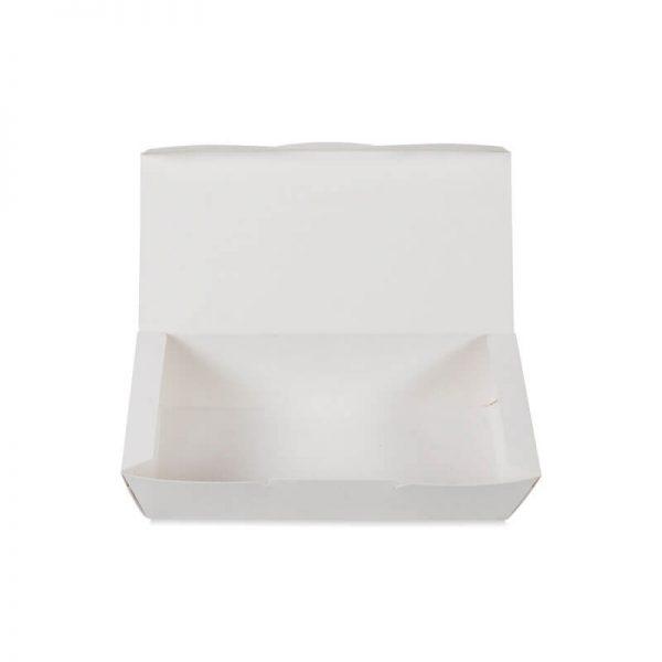 กล่องไก่ทอด สีขาว size M