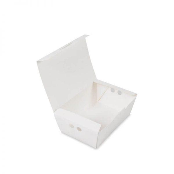 กล่องไก่ทอด สีขาว size S