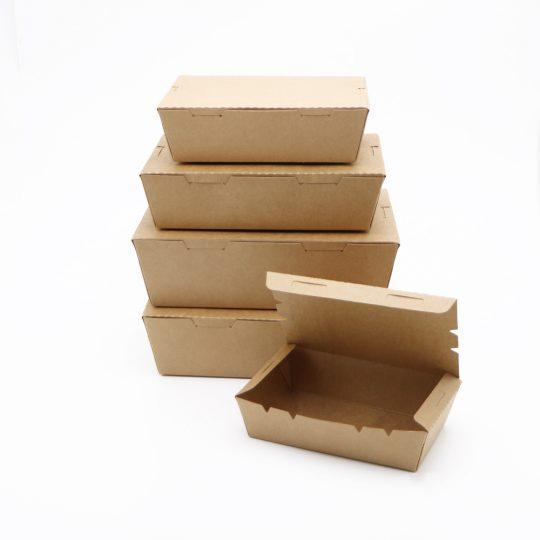 กล่องอาหาร กระดาษคราฟท์