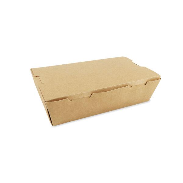 กล่องอาหาร กระดาษคราฟท์ 1600 ml