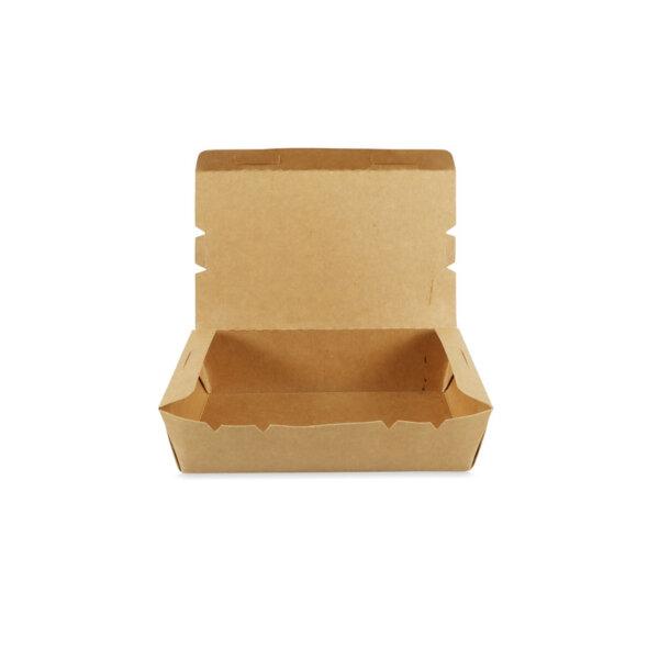 กล่องอาหาร กระดาษคราฟท์ 1200 ml