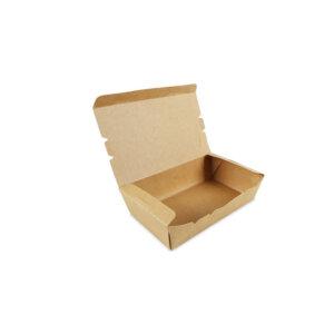 กล่องอาหาร กระดาษคราฟท์ 900 ml