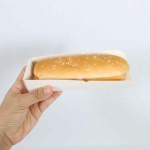 ถาดใส่ hot dog