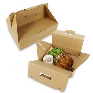 กล่องไดคัท มีหูหิ้ว Size M