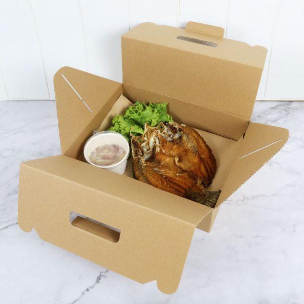 กล่องไดคัทมีหูหิ้ว Size M