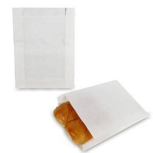 ซองกระดาษคราฟท์สีขาว 22x16x3 cm