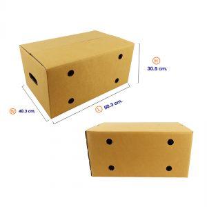 กล่องผลไม้ Size L (ขนาดเดียวกับ Kerry)