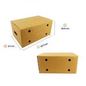 กล่องผลไม้ Size M+ (ขนาดเดียวกับ Kerry)