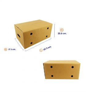 กล่องผลไม้ Size M (ขนาดเดียวกับ Kerry)