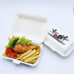กล่องข้าว ใส่อาหารปลอดภัย ลายไก่ 725 ml. รายละเอียด