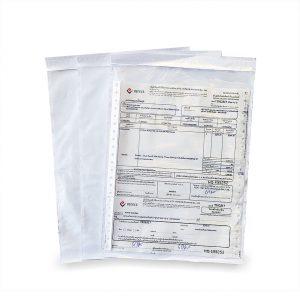 ซองพลาสติกใสหลังกาว สำหรับใส่เอกสาร A4