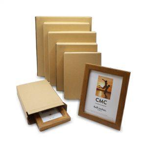 กล่องใส่กรอบรูป กล่องฝาเกย กล่องแบน