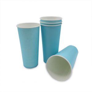 แก้วกระดาษ-สีฟ้าพาสเทล-22-ออนซ์