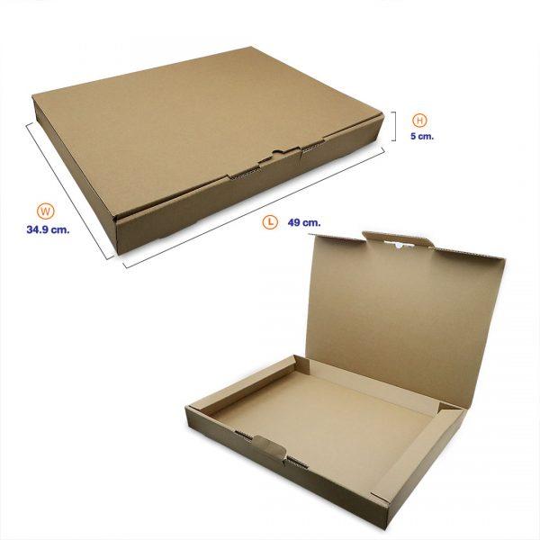 กล่องลูกฟูกใส่กระดาษ-A3+Profile