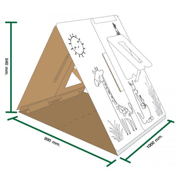 เต้นท์กระดาษ paper tent